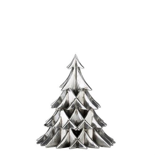 Weihnachtsbaum,silber,  14,5 cm