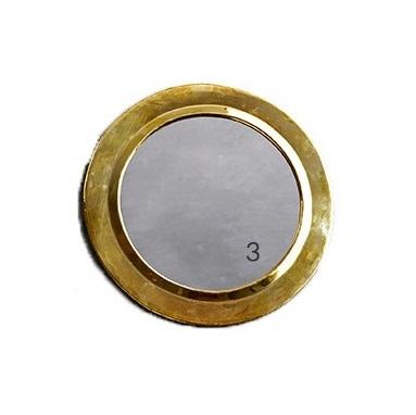 Spiegel, brass, M