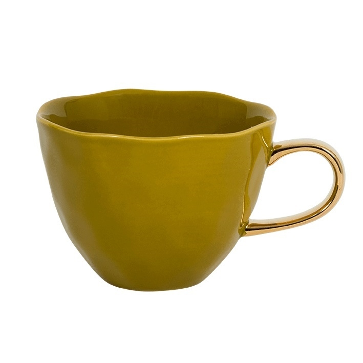 Good Morning Cup, ambergreen