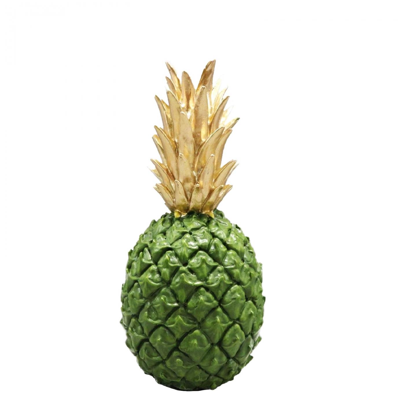Ananas, grün-gold, M