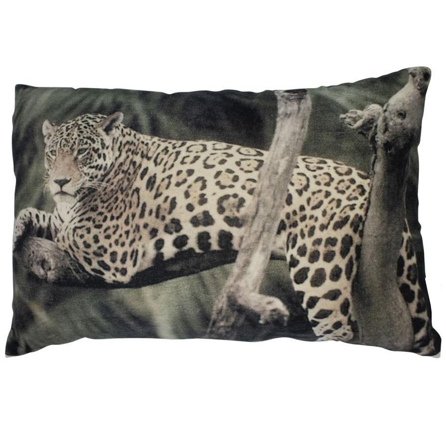 Kissen, liegender Panther