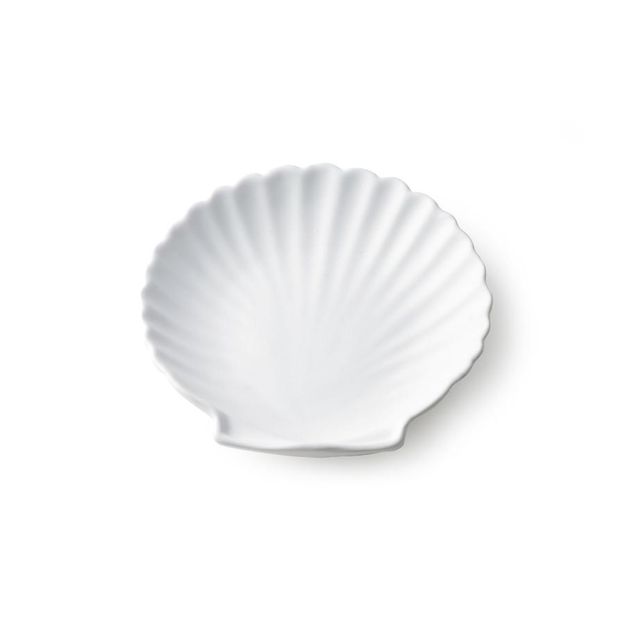 Muschelteller, weiß, klein