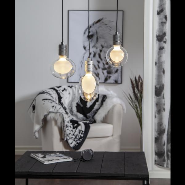 LED-Leuchtmittel weiß mit Glaskuppel