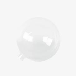 Ersatzglas für Kugelleuchter, transparent
