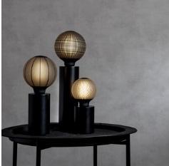 Lampenfuß für Leuchtmittel, schwarz, M - B-Ware