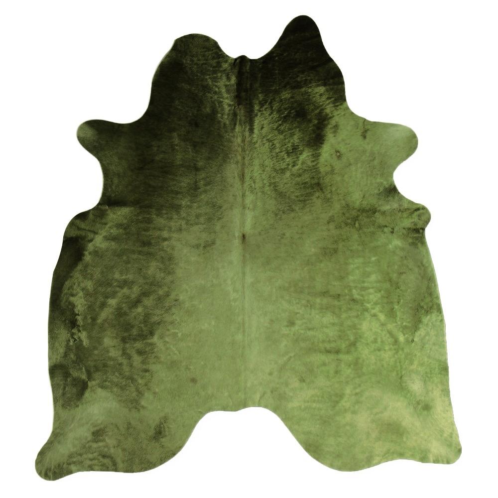 Kuhfell 250 x 150 cm, grün