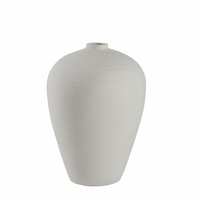 XL-Vase, 57 cm, weiß