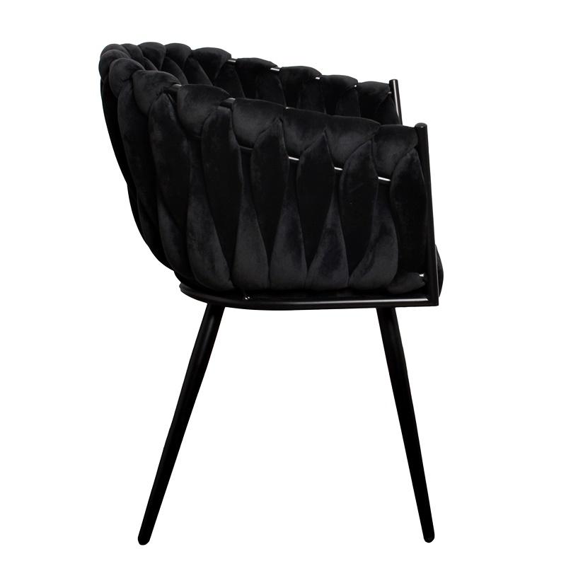Stuhl, Welle, schwarz