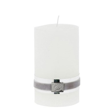 Lene Bjerre Kerze, weiß, Höhe 12,5 cm
