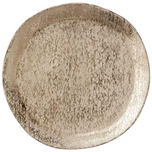 Tablett hell gold Ø33 cm