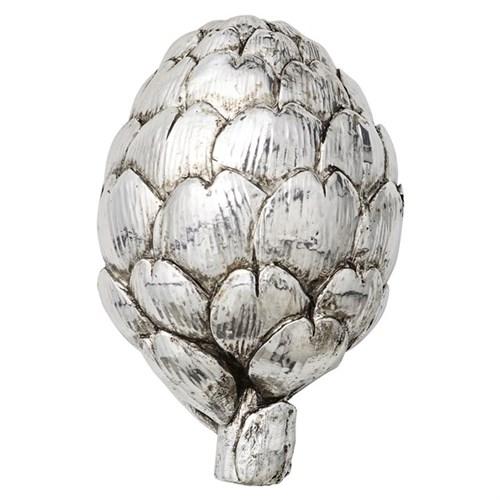 Artischocke, silber, 12 cm