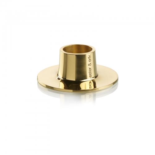 Kerzenhalter, shiny brass