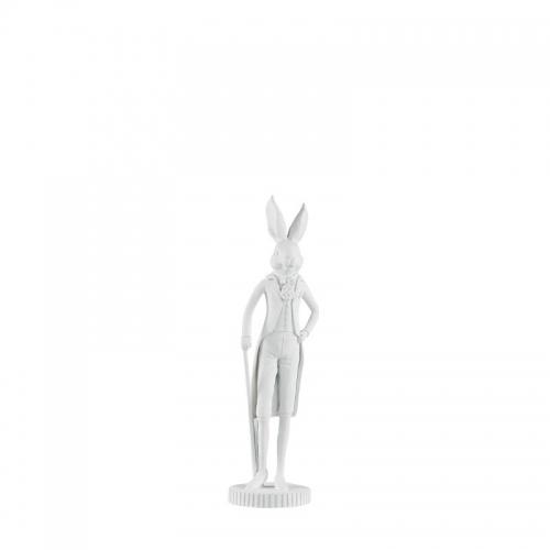 Hase, stehend, weiß, 25,5 cm