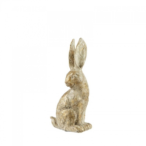 Hase, hellgold, 12 cm