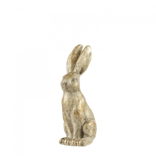 Hase, hellgold, 20 cm