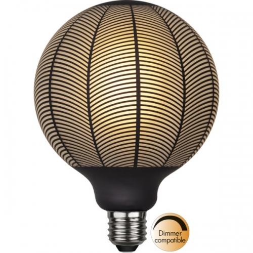 LED-Leuchtmittel, Graphic,Artdeco, 12,5 cm